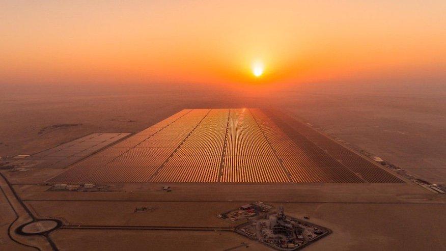 vilken är världens största solpark?